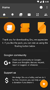 Siru  Icon Pack Screenshot