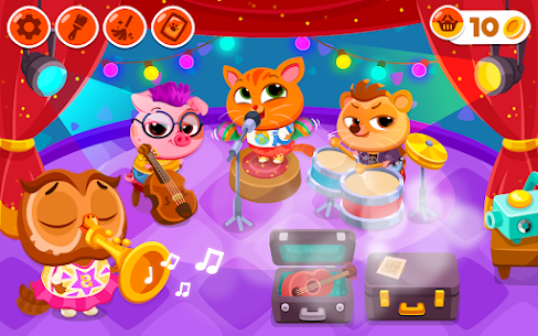 Bubbu School – My Cute Animals Mod Apk (Unlimited Money + Unlocked) 1.05 10