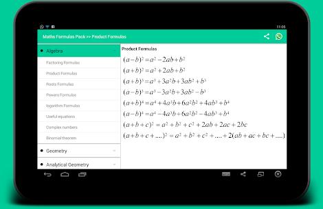 All Math Formula PRO Cracked APK 5