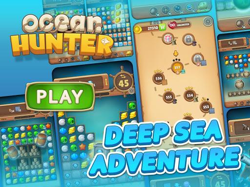 Ocean Hunter : Match 3 Puzzle 1.0.8 screenshots 10