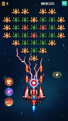 Galaxiga: Classic Arcade Shooter 80s - Free Games 21.7 screenshots 1