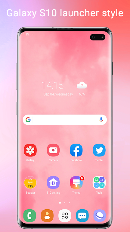 Super S10 Launcher for Galaxy S8/S9/S10/J launcher  poster 0