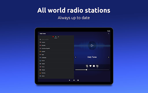 Daily Tunes - World Internet Radios & Live Streams Apkfinish screenshots 16