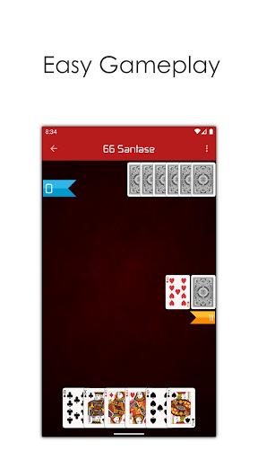 66 Online - Play Multiplayer Santase Card Game screenshots 3