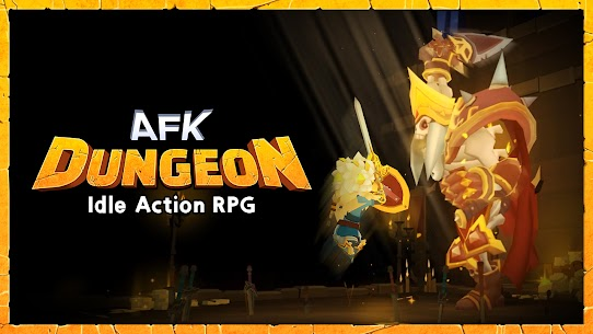 AFK Dungeon Mod Apk: Idle Action RPG (Unlimited Gold/Diamonds) 1