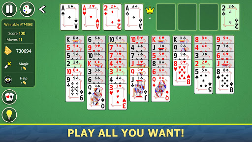 FreeCell Solitaire Mobile 2.0.7 screenshots 5