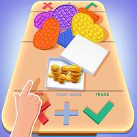 DIY Fidget Trading Pop it Fidget Toys 3D Game