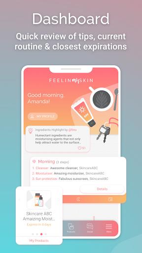 FeelinMySkin - Skincare Routine Assistant  Screenshots 4