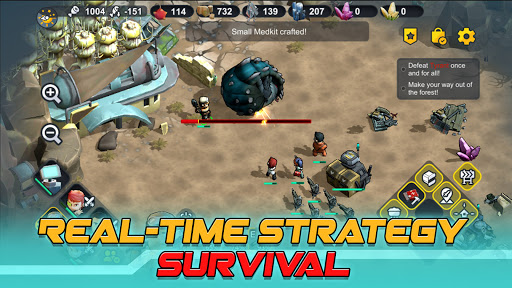 Strange World - RTS Survival screen 1
