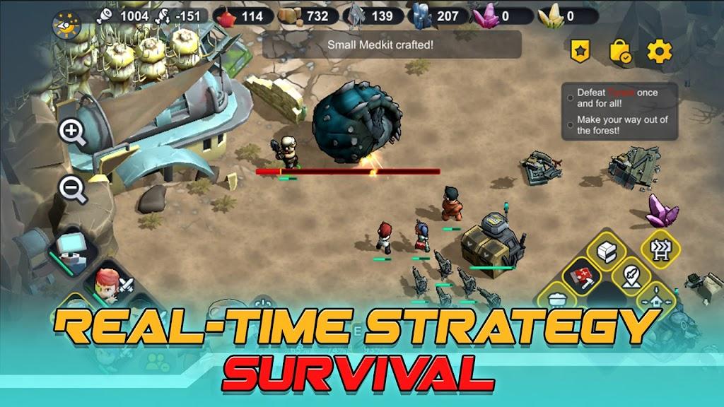 Strange World - RTS Survival poster 1