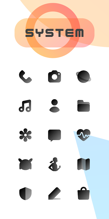 CHIC DARK - Icon Pack: On sale  poster 1