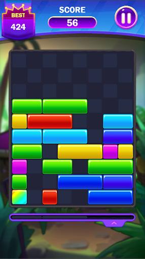 Code Triche Falling Puzzle - Funny Falling Block (Astuce) APK MOD screenshots 2