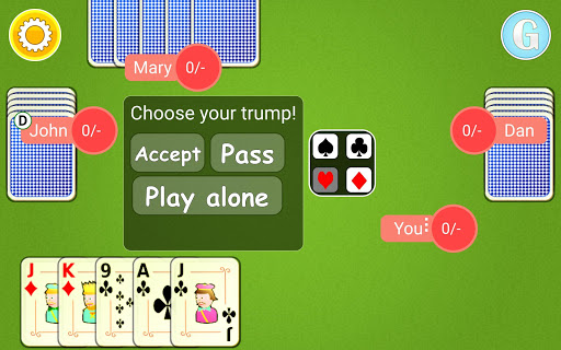 Euchre Mobile android2mod screenshots 10