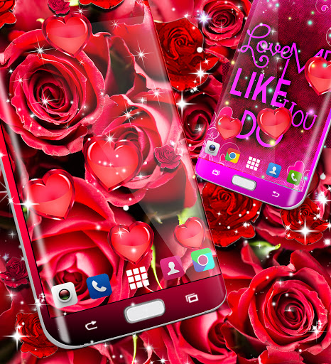 Red rose live wallpaper apktram screenshots 14