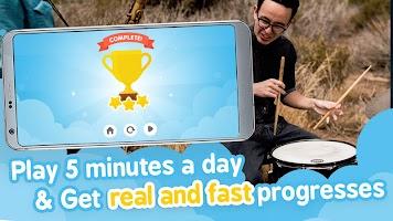 Tap and learn musical rhythm - Beat the Rhythm
