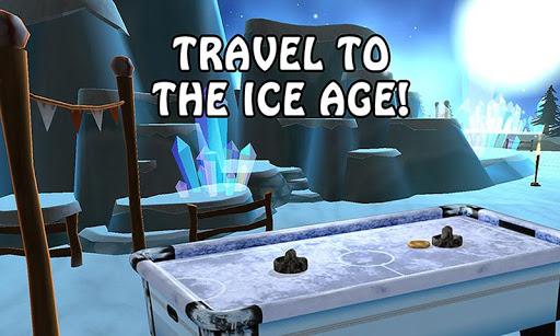 Air Hockey - Ice to Glow Age  screenshots 4