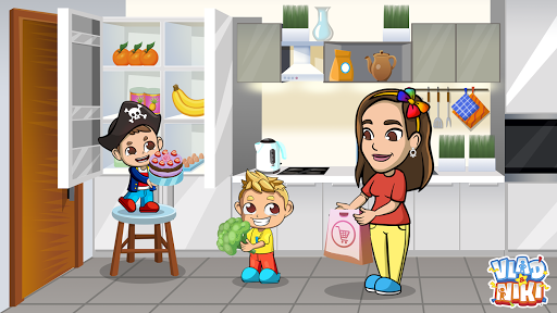 Vlad & Niki Supermarket game for Kids  screenshots 13