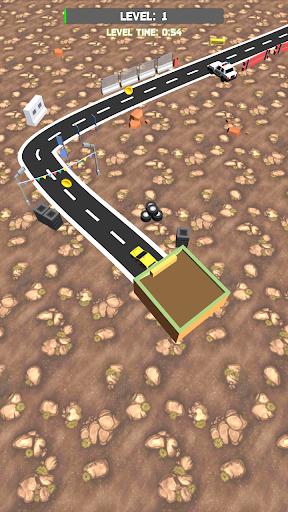 Télécharger Line Racer 3D: Extreme car driving  APK MOD (Astuce) screenshots 1
