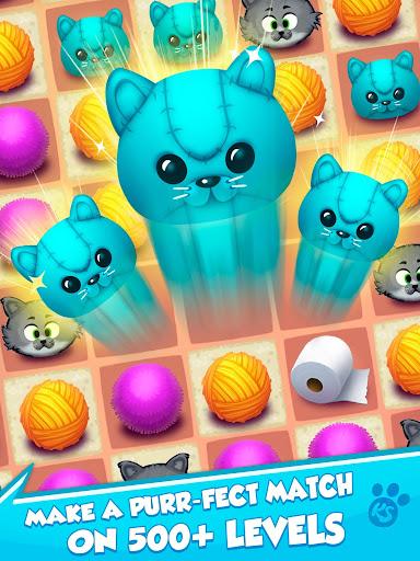 Kitty Snatch - Match 3 ft. Cats of Instagram game screenshots 12