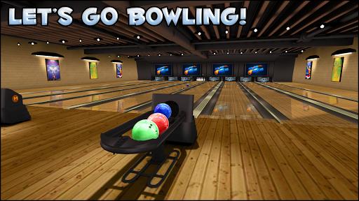 Galaxy Bowling 3D Free screenshots 1