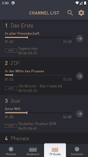Grundig Smart Remote modavailable screenshots 6