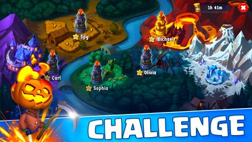 Spooky Wars - Battle Castle Defense Strategy Game SW-00.00.58 screenshots 3
