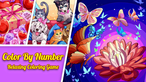 Tap Color Lite : Color by Number. Coloring Games  screenshots 1