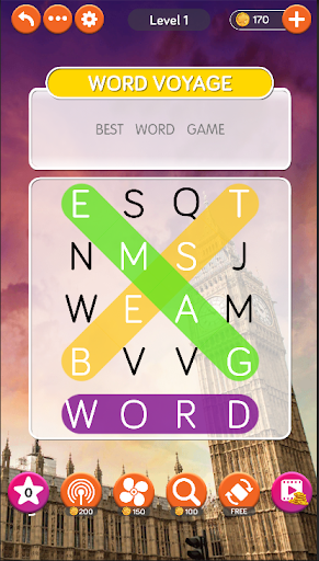 Word Voyage: Word Search & Puzzle Game apktram screenshots 1