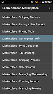 Learn Amazon Marketplace 1.0