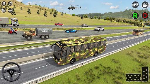 Army Bus Transporter Simulator 2020  screenshots 9
