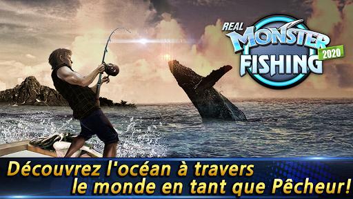 Télécharger Monster Fishing 2021 APK MOD (Astuce) screenshots 1