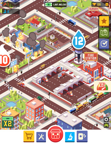 Idle Firefighter Empire Tycoon - Management Game modavailable screenshots 18
