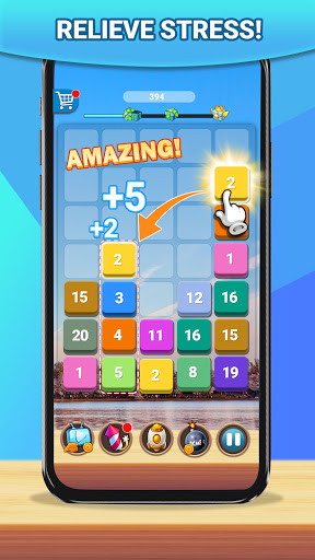 Merge Plus: Number Puzzle 1.5.8 screenshots 2