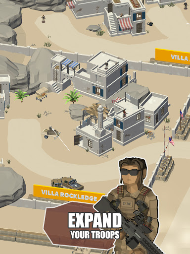 Idle Warzone 3d: Military Game - Army Tycoon screenshots 14