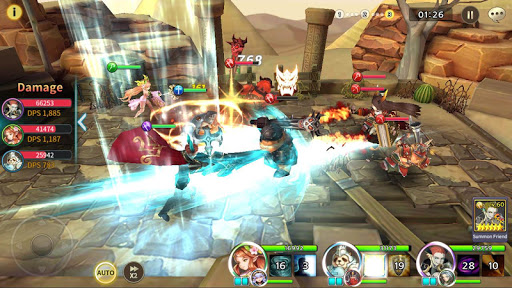 Soul Seeker: Six Knights u2013 Strategy Action RPG screenshots 6