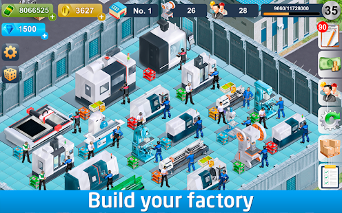 Industrialist – factory development strategy Screenshot