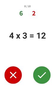 Multiplication tables – Math learning app Apk 2