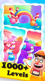 Crazy Candy Bomb - Sweet match 3 game screenshots 4