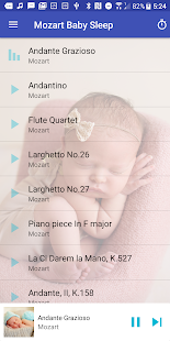 Mozart Baby Sleep Screenshot