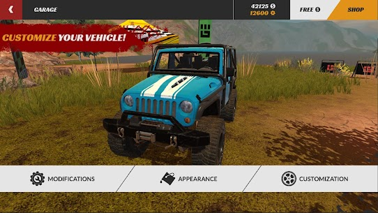 Offroad PRO – Clash of 4x4s MOD APK 1.0.15 (Free Shopping) 1