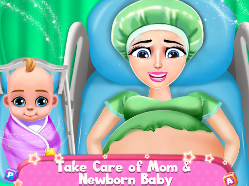 Pregnant Mommy & Baby Care: Babysitter Baby Games  screenshots 1