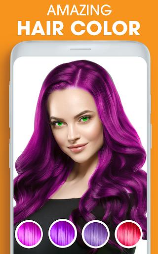 Eye, Hair Color Changer: Eye Colour Photo Editor 10.4 Screenshots 7