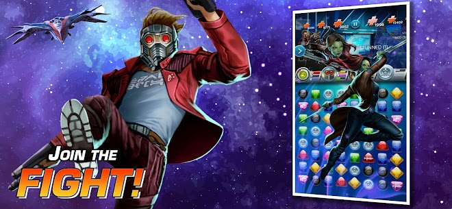 MARVEL Puzzle Quest: Join the Super Hero Battle! Apk Mod + OBB/Data for Android. 3