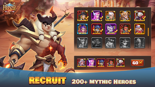 Heroes Charge Mod Apk 2.1.291 Unlimited Money/Gems for Android 5
