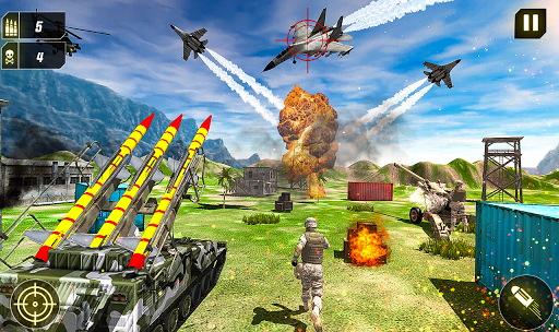 Military Missile Launcher:Sky Jet Warfare 1.0.8 screenshots 14