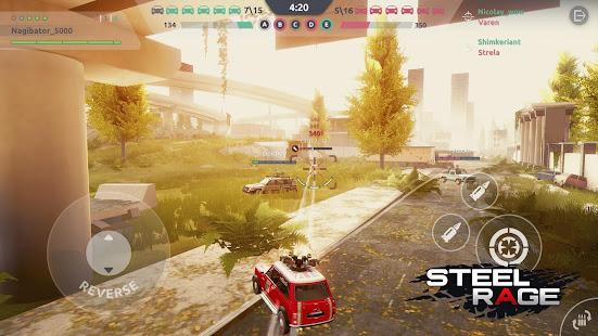 Steel Rage: Mech Cars PvP War, Twisted Battle 2021 Mod Apk
