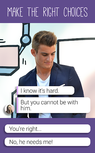 Hey Love Tim: High School Chat Story android2mod screenshots 13