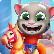 App Icon for Talking Tom Fun Fair App in United States Google Play Store
