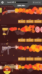 Gun Idle Mod Apk (VIP/Unlimited Money + Unlocked) 6