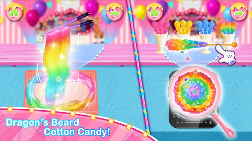 Unicorn Chef Carnival Fair Food: Games for Girls 1.8 screenshots 2